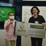 Ganhadores do 6º sorteio do programa Sua Nota Tem Valor recebem prêmios