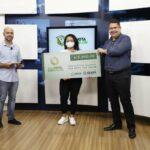 Ganhadores do 12º sorteio do Sua Nota Tem Valor recebem prêmios